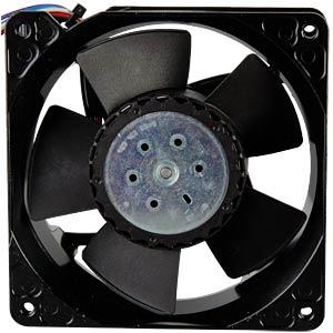 Axiallüfter,24VDC,119x119x38mm,U/min: 9500 EBM-PAPST 969 4314 003