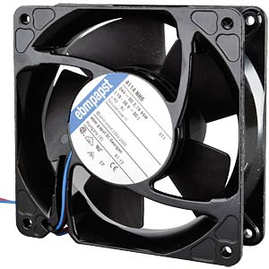 Axial fan, 24V DC, 119 x 119 x 38 mm, rpm: 8400 EBM-PAPST 969 4300 256
