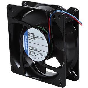 Axiallüfter,24VDC,119x119x38mm,U/min: 5000 EBM-PAPST 969 4300 224
