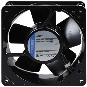 Axial fan, 230VAC, 119 x 119 x 38 mm, rpm: 2650 EBM-PAPST 927 4014 801