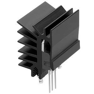 Clip-on heat sink for housing TO-220, 13 K/W FISCHER ELEKTRONIK SK 525 15 ST