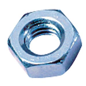 Hexagonal nuts, 100 pcs M2.5 FREI
