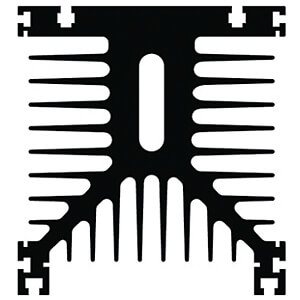 Kühlkörper, 100 mm, Alu, 0,48 K/W FISCHER ELEKTRONIK SK 109/100/SA
