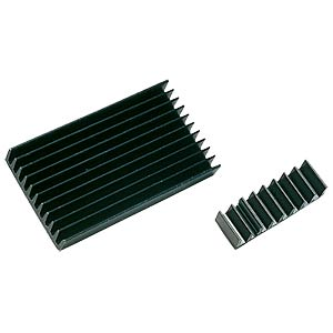 IC heat sink, 6.3x18.9x4.8mm, 50K/W FREI