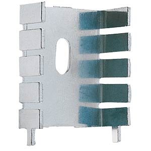 Spezial-Kühlkörper, 33x25,4mm, 22,5K/W, lötbar FREI