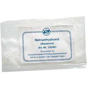 Developer, sodium hydroxide, 10 g FREI