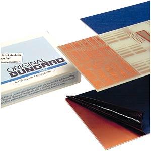 Fotoplatine, einseitig, 160x100mm, 1,5mm, 35µ BUNGARD 120306E33