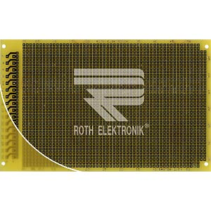 Laborkarte FR4 RM 2,54 mm 32-pol. ROTH-ELEKTRONIK RE317-LF