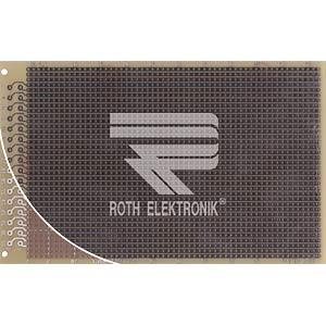 Laborkarte FR4 RM 2,54 mm 32-pol. Streifen ROTH-ELEKTRONIK RE521-LF