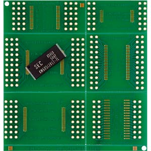 SMD-Laborkarte, Epoxyd, SMD-TSOP I/II ROTH-ELEKTRONIK RE900