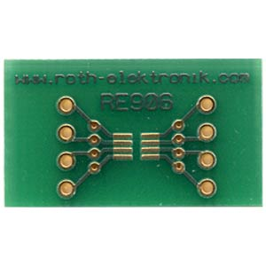 Adapter 5-Pin-SC70, 6-Pin-SC70, 8-Pin-SOT23 ROTH-ELEKTRONIK RE906