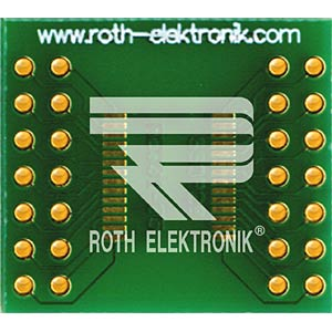 Adapter SSOP 28 Pins 0,65 mm Pitch ROTH-ELEKTRONIK RE931-05