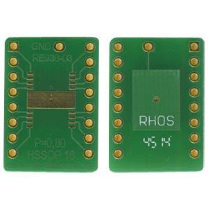 RE 938-03 - Adapter HSSOP16 P=0,80 mm RM 2,54 mm
