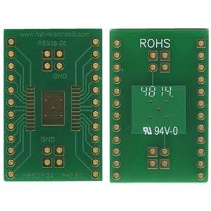 RE 938-05 - Adapter HSSOP24 P=0,80 mm RM 2,54 mm