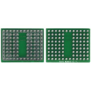 Solderable breadboard, 14-pin socket 31.75 x 24.76 mm ROTH-ELEKTRONIK RE942-S1