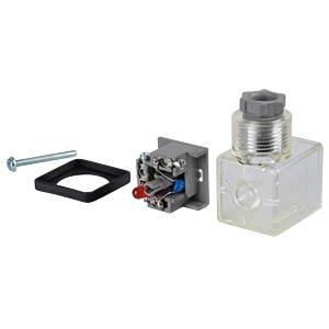 Accessories for VX, device outlet, 230 V SMC PNEUMATIK