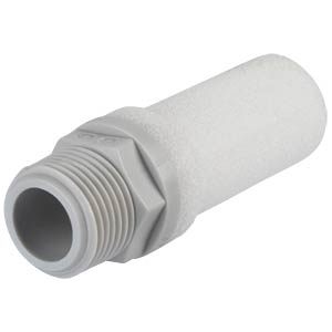 Screw-in silencer, plastic, R3/8 SMC PNEUMATIK