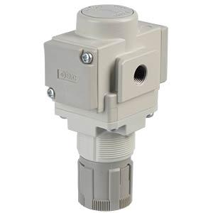 Präzisionsdruckregler G1/8, rundes Manometer SMC PNEUMATIK