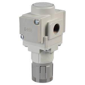 Präzisionsdruckregler G1/4, rundes Manometer SMC PNEUMATIK
