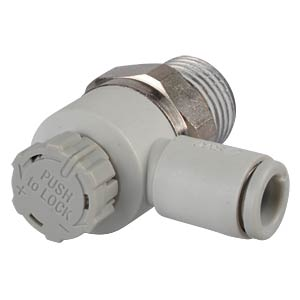 One-way throttle valve, M5, easy operation SMC PNEUMATIK