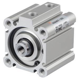 Kompaktzylinder, M8, Ø 40 mm, 10 mm SMC PNEUMATIK