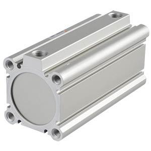 Compact cylinder, M10, Ø 50mm, 100mm SMC PNEUMATIK
