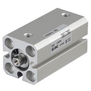 Kompaktzylinder, M3, Ø 12 mm, 25 mm SMC PNEUMATIK