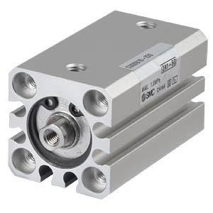 Kompaktzylinder, M4, Ø 16 mm, 25 mm SMC PNEUMATIK