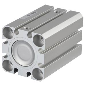 Kompaktzylinder, M5, Ø 20 mm, 25 mm SMC PNEUMATIK