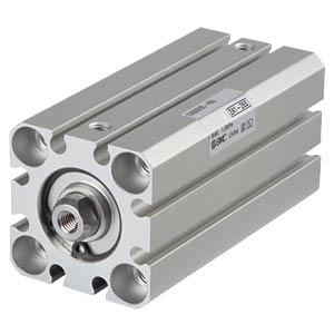 Kompaktzylinder, M5, Ø 20 mm, 45 mm SMC PNEUMATIK