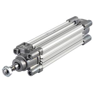 ISO-Zylinder, Profil-Bauweise, M10, Ø 32 mm, 100 mm SMC PNEUMATIK