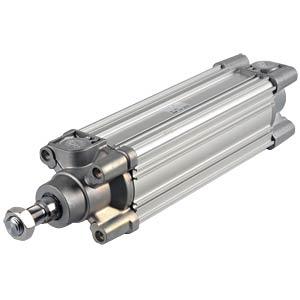 ISO cylinder, profile design, M16, Ø 63mm, 160mm SMC PNEUMATIK
