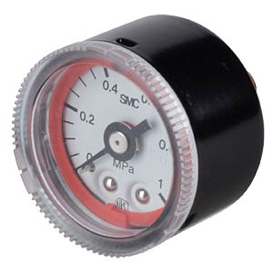 Manometer 0.0 - 1.0 MPa, ±3%, display Ø 37.5 mm SMC PNEUMATIK