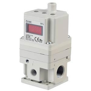 Pressure control valve, analogue input 0 - 10V, output 1 - 5V SMC PNEUMATIK