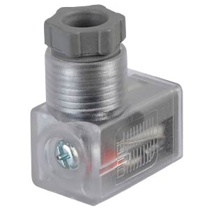 Accessories for outlet, DIN plug, with display SMC PNEUMATIK