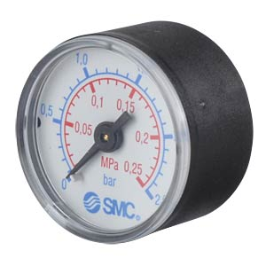 Manometer 0.0 - 0.25 MPa, ±2.5%, display Ø 40 mm SMC PNEUMATIK