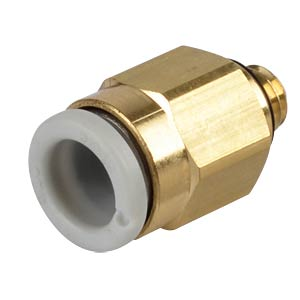 Screw connection, straight, M5 <> &#216; 6 mm SMC PNEUMATIK