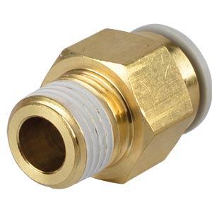 Screw connection, straight, R1/4 <> Ø 10 mm SMC PNEUMATIK