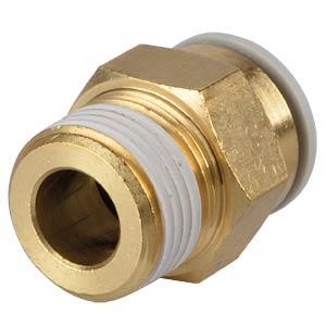 Screw connection, straight, R3/8 <> Ø 12 mm SMC PNEUMATIK