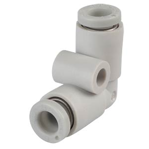 Plug connection, angled, Ø 4 mm <> Ø 4 mm SMC PNEUMATIK
