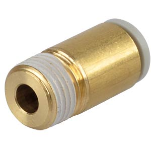 Screw connection, straight, with internal hexagon, R1/8 <> Ø 6 m SMC PNEUMATIK