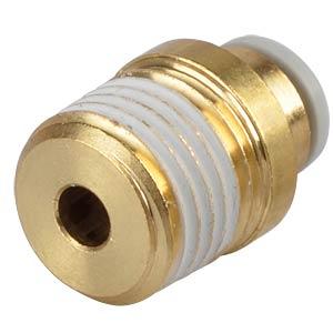 Screw connection, straight, with internal hexagon, R1/4 <> Ø 6 m SMC PNEUMATIK