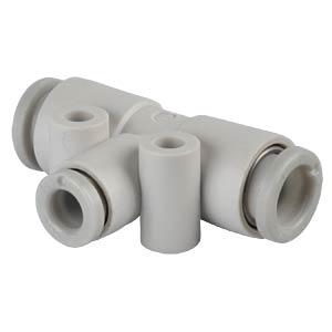 T-Steckverbindung, 2x Ø 6 mm <> 1x Ø 4 mm SMC PNEUMATIK
