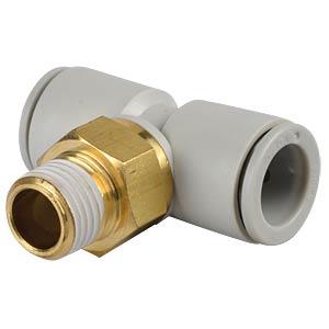 T-screw connection, R1/4 <> 2x Ø 12 mm SMC PNEUMATIK