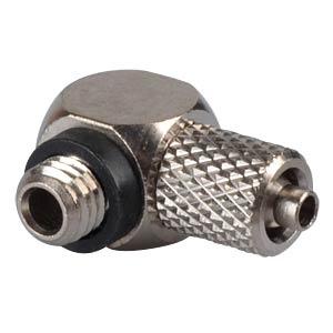 Miniature screw fitting, angled, M5 <> Ø 4.0 mm SMC PNEUMATIK