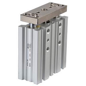 Kompaktzylinder, 4xM4, Ø 12 mm, 30 mm SMC PNEUMATIK