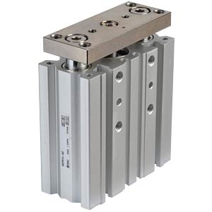 Compact cylinder, 4xM5, Ø 16mm, 30mm SMC PNEUMATIK
