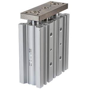 Kompaktzylinder, 4xM5, Ø 20 mm, 50 mm SMC PNEUMATIK