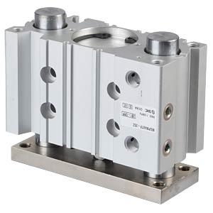 Kompaktzylinder, 4xM8, Ø 40 mm, 25 mm SMC PNEUMATIK