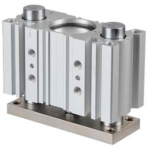 Compact cylinder, 4xM8, Ø 40 mm, 25 mm SMC PNEUMATIK